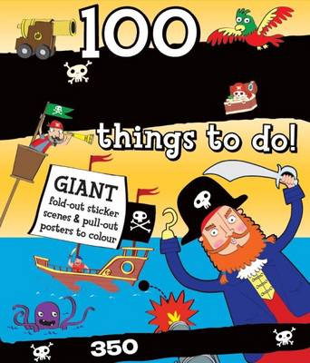 Picture of Spiral Bound Activity 100 Pirate Things to Do