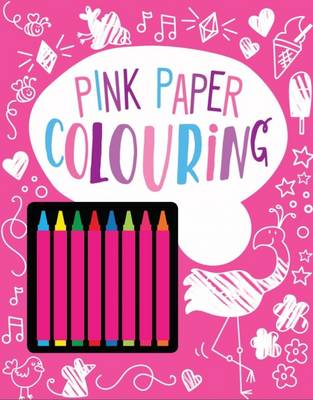 Picture of Pink Paper Colouring