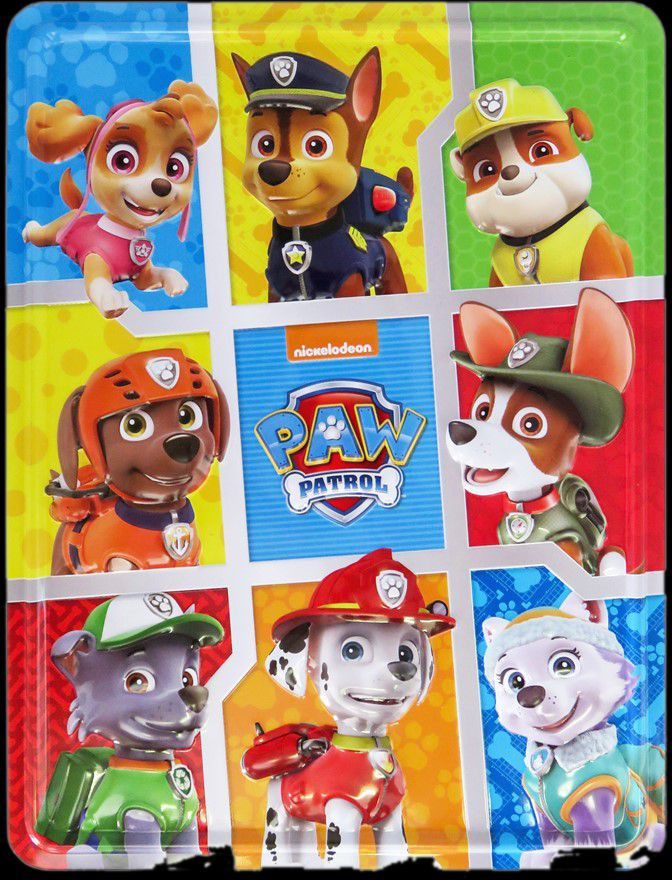Picture of Nickelodeon PAW Patrol Happy Tin: Are You Ready to Roll with the Paw Patrol?