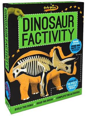 Picture of Gold Stars Factivity Dinosaur Factivity: Build the Dino, Read the Book, Complete the Activities