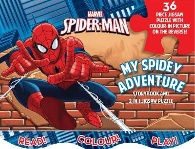 Picture of Marvel Spider-Man My Spidey Adventure: Storybook and 2-in-1 Jigsaw Puzzle