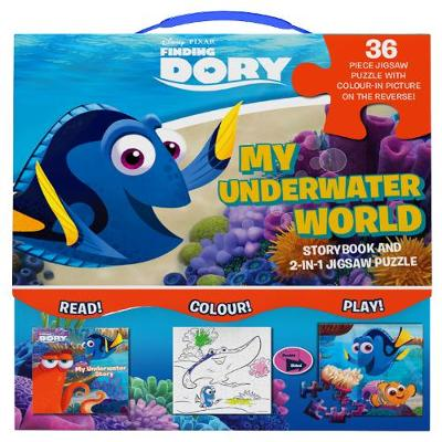 Picture of Disney Pixar Finding Dory My Underwater World: Storybook and 2-in-1 Jigsaw Puzzle