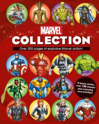 Picture of The Marvel Collection: 4 Heroic Stories, Over 100 Stickers Plus Colouring and Activities!