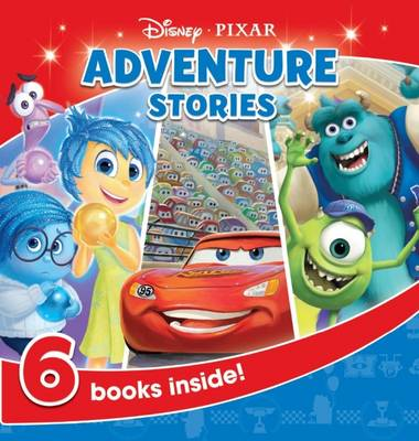 Picture of Disney Pixar Adventure Stories Carry Along Storybox