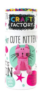 Picture of Craft Factory Cute Kitten: Make and Personalize Your New Friend!