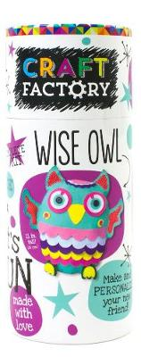 Picture of Craft Factory Wise Owl: Make and Personalize Your New Friend!