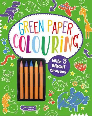Picture of Green Paper Colouring