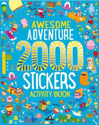 Picture of Awesome Adventure 2000 Stickers Activity Book