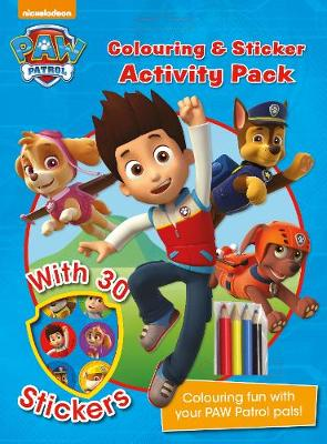 Picture of Nickelodeon Paw Patrol Colouring and Sticker Activity Pack