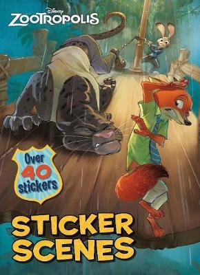 Picture of Disney Zootropolis Sticker Scenes: Over 40 Stickers