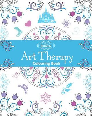 Picture of Disney Frozen Art Therapy Colouring Book
