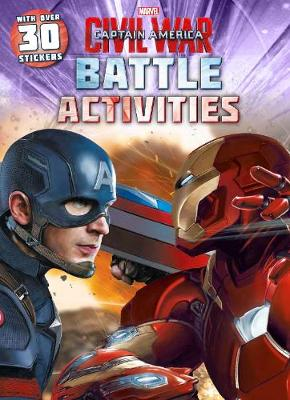 Picture of Marvel Captain America Civil War Battle Activities: With Over 30 Stickers