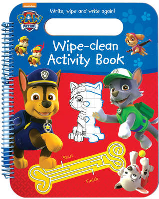 Picture of Paw Patrol Wipe Clean Activity Book