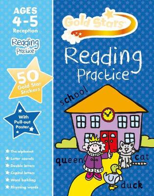 Picture of Gold Stars Reading Practice Ages 4-5 Reception