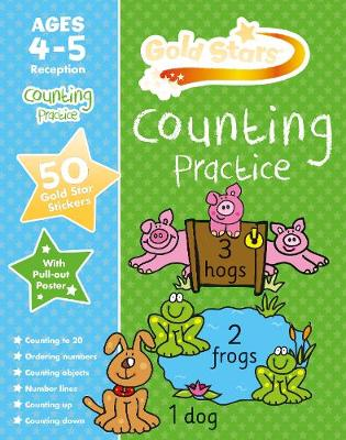 Picture of Gold Stars Counting Practice Ages 4-5 Reception