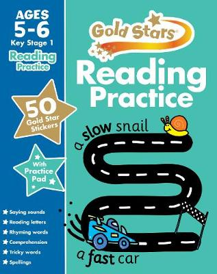 Picture of Gold Stars Reading Practice Ages 5-6 Key Stage 1