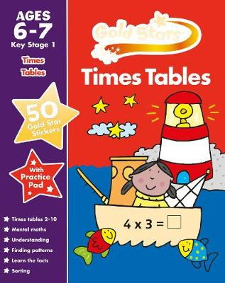 Picture of Gold Stars Times Tables Ages 6-7 Key Stage 1