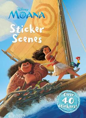 Picture of Disney Moana Sticker Scenes