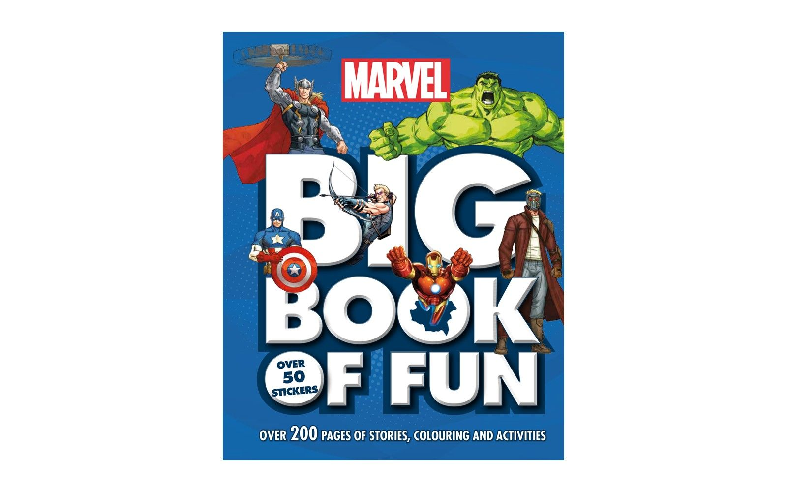 Picture of Marvel Big Book of Fun: Over 200 Pages of Stories, Colouring and Activities, with Over 50 Stickers