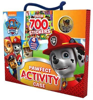 Picture of Nickelodeon PAW Patrol Pawfect Activity Case: Over 700 Stickers
