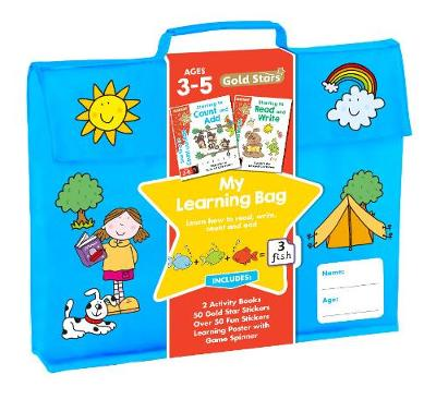 Picture of Gold Stars My Learning Bag Ages 3-5: Learn How to Read, Write, Count and Add
