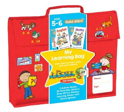 Picture of Gold Stars My Learning Bag Ages 5-6: Learn How to Read, Write, Add and Subtract
