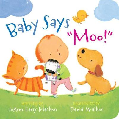 Picture of Baby Says  Moo!  [Padded Board Book]