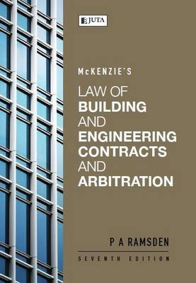 Picture of McKenzie's law of building and engineering contracts and arbitration