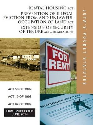 Picture of Rental Housing Act 50 of 1999