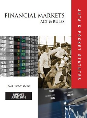 Picture of Financial Markets Act 19 of 2012 & rules