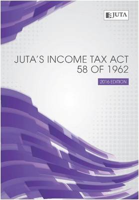 Picture of JutaÆs Income Tax 58 of 1962