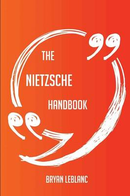 Picture of The Nietzsche Handbook - Everything You Need to Know about Nietzsche