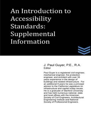 Picture of An Introduction to Accessibility Standards: Supplemental Information