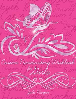 Picture of Cursive Handwriting Workbook for Girls