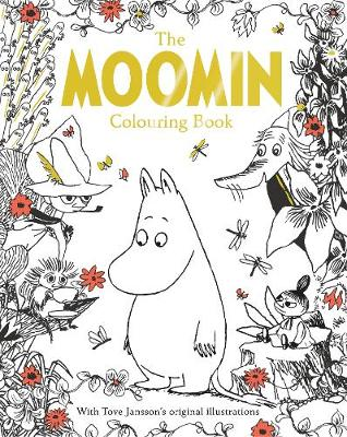 Picture of The Moomin Colouring Book
