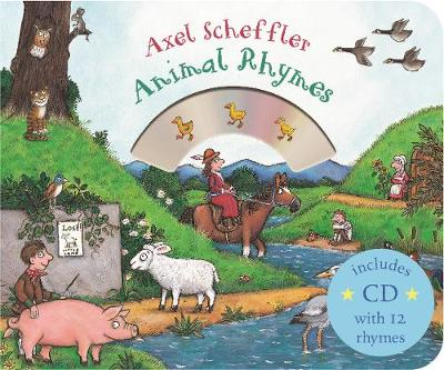 Picture of Mother Goose's Animal Rhymes: Book and CD Pack