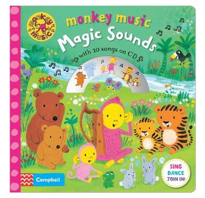 Picture of Monkey Music Magic Sounds: Book and CD Pack