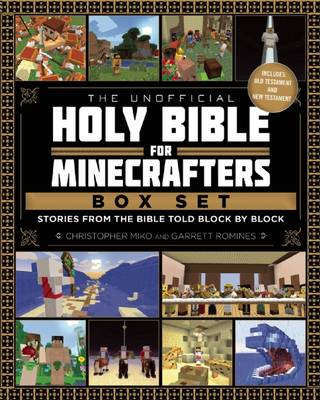 Picture of The Unofficial Holy Bible for Minecrafters Box Set: Stories from the Bible Told Block by Block