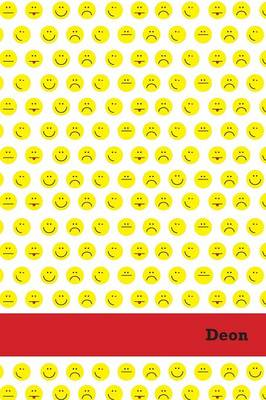 Picture of Etchbooks Deon, Emoji, College Rule, 6 X 9', 100 Pages