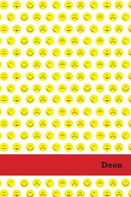 Etchbooks Deon, Emoji, Wide Rule