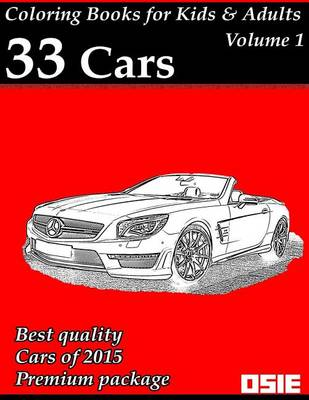 Picture of Coloring Book for Kids & Adults: Cars 2015