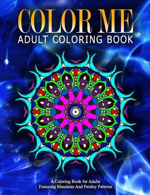 Picture of Color Me Adult Coloring Books - Vol.19: Relaxation Coloring Books for Adults