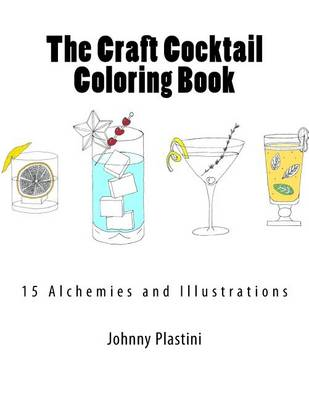 Picture of The Craft Cocktail Coloring Book