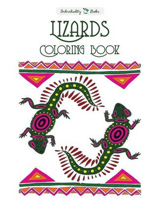 Picture of Lizards Coloring Book
