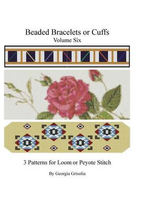 Picture of Beaded Bracelets or Cuffs: Bead Patterns by Ggsdesigns