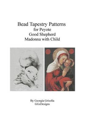 Picture of Bead Tapestry Patterns for Peyote Good Shephard and Madonna with Child