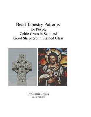 Picture of Bead Tapestry Patterns for Peyote Celtic Cross and Good Shepherd Stained