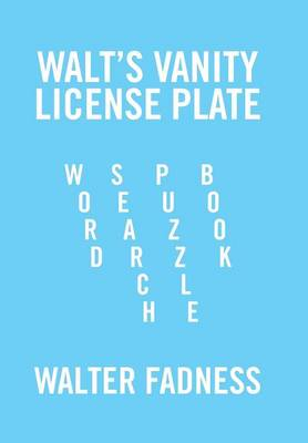 Picture of Walt's Vanity License Plate: Word Search Puzzle Book