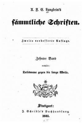 Picture of A.F.E. Langbein's Sammtliche Schriften