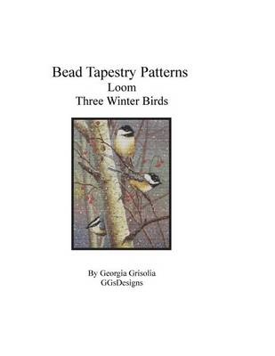 Picture of Bead Tapestry Patterns Loom Three Winter Birds